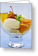 Ice Cream Greeting Card by Elena Elisseeva
