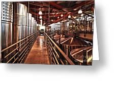 Inside Winery Greeting Card by Elena Elisseeva