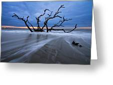 Into The Blue Greeting Card by Debra and Dave Vanderlaan