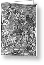 Intolerable Acts 1774 Greeting Card by Granger