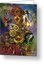 It's About Time Greeting Card by Ciro Marchetti