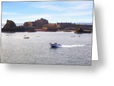 Jersey - Elizabeth Castle Greeting Card by Joana Kruse