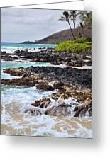 Keanae Lava Rock Greeting Card by Jenna Szerlag