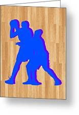 Kevin Durant Kobe Bryant Greeting Card by Joe Hamilton