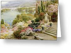 Lake Maggiore Greeting Card by Ebenezer Wake-Cook
