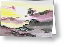 Landscape 1 Greeting Card by Anil Nene