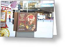 Las Vegas - Fremont Street Experience - 12128 Greeting Card by DC Photographer
