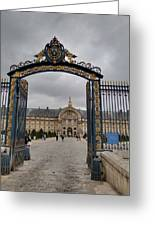 Les Invalides - Paris France - 01138 Greeting Card by DC Photographer
