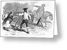 Lexington: Minutemen, 1775 Greeting Card by Granger