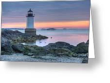 Lighthouse Greeting Card by Juli Scalzi
