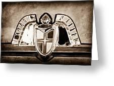 Lincoln Emblem Greeting Card by Jill Reger