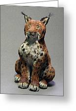 Linx Greeting Card by Jeanette K
