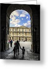 Louvre Greeting Card by Elena Elisseeva