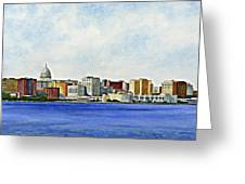 Madison Greeting Card by Thomas Kuchenbecker