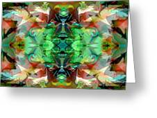Magic Lamp 3 Greeting Card by Lynda Lehmann