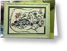 Mechanics Greeting Card by Mj  Museum
