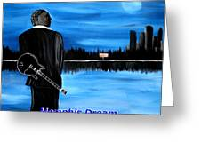 Memphis Dream With B B King Greeting Card by Mark Moore