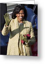 Michelle Obama Greeting Card by JP Tripp