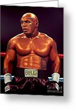 Mike Tyson Greeting Card by Paul  Meijering