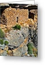 Montezumas Well Greeting Card by Gregory Dyer