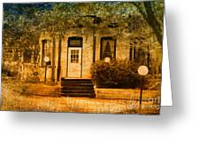 Montpelier Place Greeting Card by Deborah Benoit