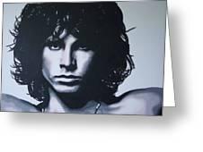 Morrison Greeting Card by Luis Ludzska