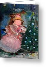 Mother Christmas Greeting Card by Laurie D Lundquist