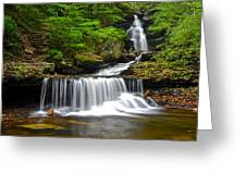 Ozone Falls Greeting Card by Frozen in Time Fine Art Photography