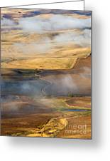 Patterns Of The Land Greeting Card by Mike  Dawson