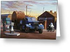Pickfords Diamond T Greeting Card by Mike  Jeffries