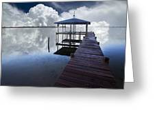 Reflections Greeting Card by Debra and Dave Vanderlaan