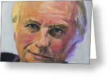 Richard Dawkins Greeting Card by Simon Kregar