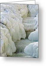Rocky Gorge Scenic Area - White Mountains New Hampshire Usa Greeting Card by Erin Paul Donovan