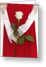 Rose Greeting Card by Joana Kruse