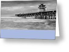 San Clemente Greeting Card by Radek Hofman