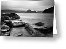Scotland Elgol Greeting Card by Nina Papiorek
