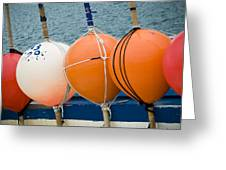 Seaside Colors Greeting Card by Frank Tschakert