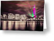 Shard London Greeting Card by Dawn OConnor