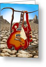 Soft Guitar II Greeting Card by Mike McGlothlen