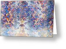 Spiritual Torrents Greeting Card by Christopher Gaston