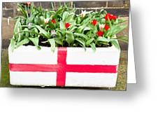 Spring Flowers Greeting Card by Tom Gowanlock