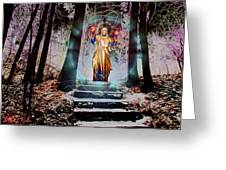 Stairway To Heaven Greeting Card by Michael Rucker