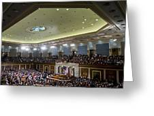 State Of The Union Greeting Card by JP Tripp