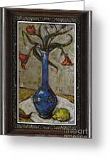 Still Life Greeting Card by Danilo