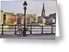 Stockholm 6 Greeting Card by Yury Malkov