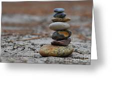 Stone Pyramide Greeting Card by Hannes Cmarits