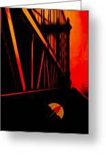 Sunset Greeting Card by Jack Zulli
