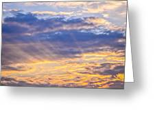 Sunset Sky Greeting Card by Elena Elisseeva