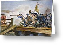 The Battle Of Concord, 1775 Greeting Card by Granger