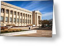 The Field Museum In Chicago Greeting Card by Paul Velgos